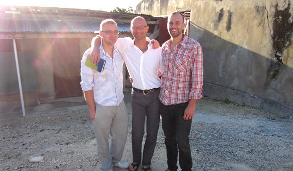 Haiti 2012 / Tobi, Holger & Simon